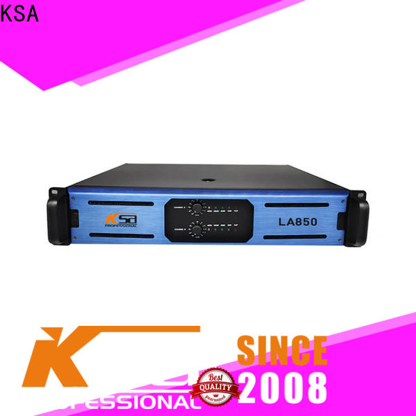 KSA professional stereo amplifier inquire now for night club