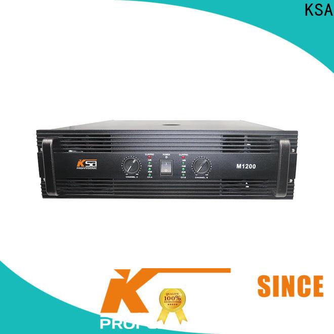 KSA worldwide channel power amplifier directly sale for transformer
