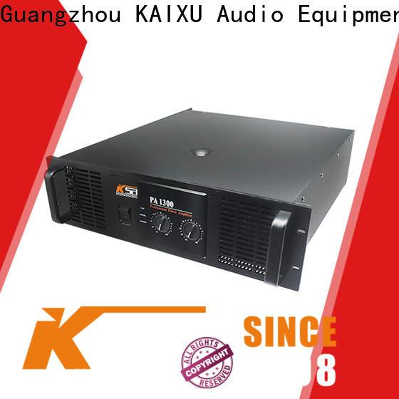 worldwide sound amplifier manufacturer for night club