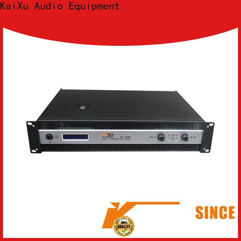 KSA stable concert power amplifier factory for ktv