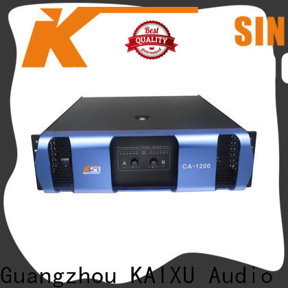 KSA professional power amplifier made in china best supplier for sale