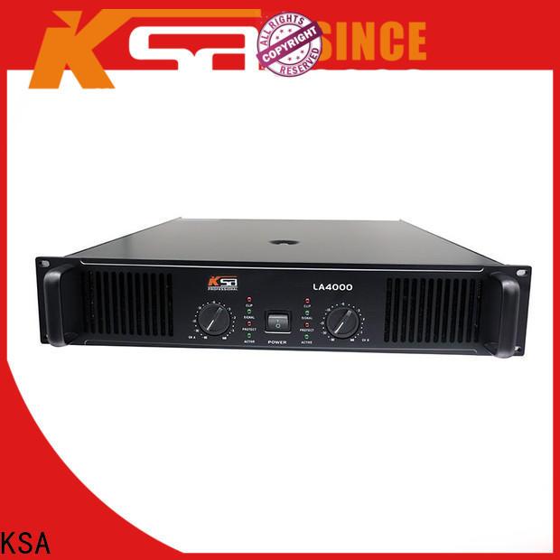 KSA two channel power amplifier factory direct supply bulk production