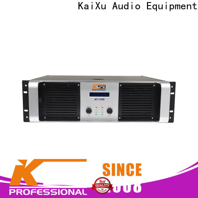 latest high power audio amplifier series for stage