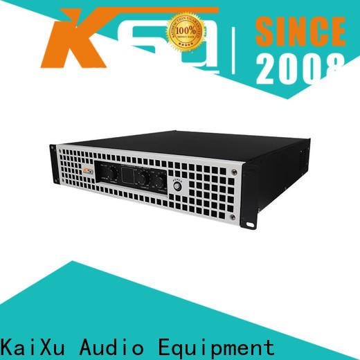 KSA audio system amplifier series for club