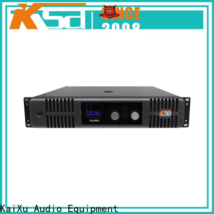 KSA best price karaoke power amplifier wholesale for ktv