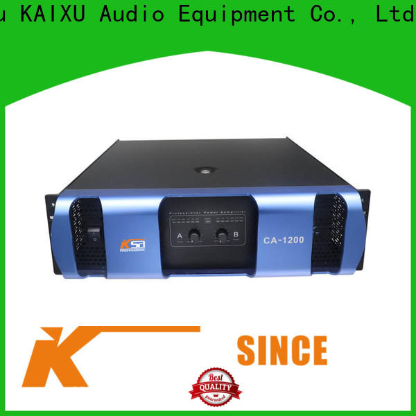 KSA cost-effective power amplifier sound system supplier for promotion