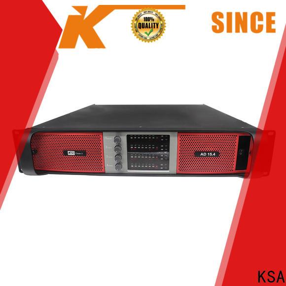 KSA digital audio amplifier supplier for night club