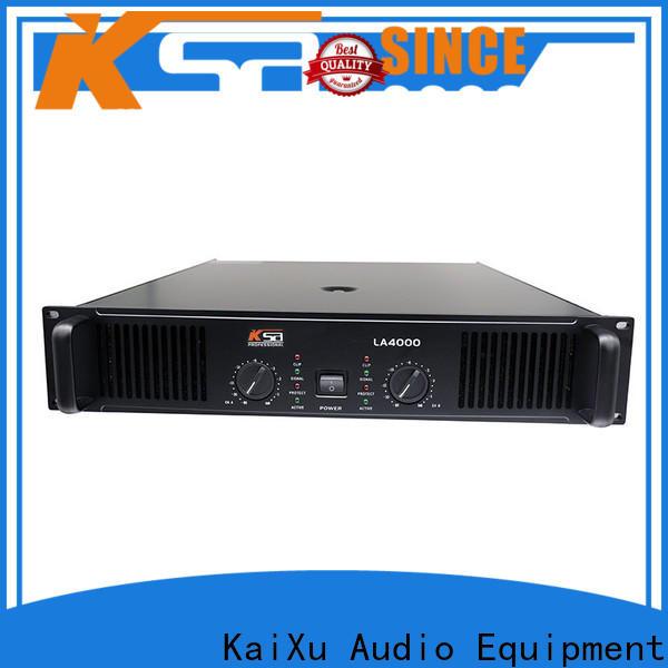 KSA factory price live sound power amplifier supplier for club
