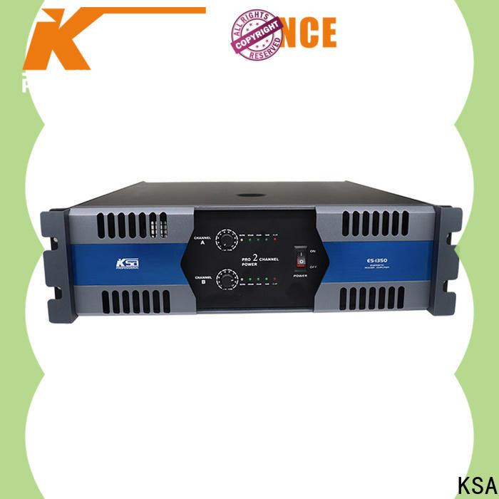 KSA top high power audio amplifier factory for sale
