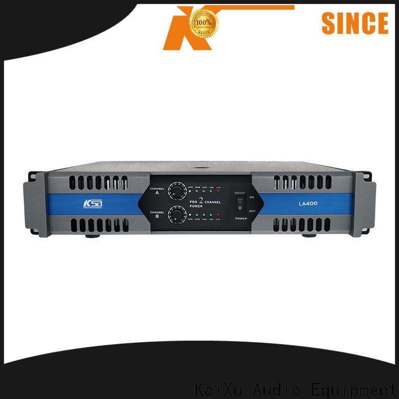 KSA high quality dj power amplifier company bulk production
