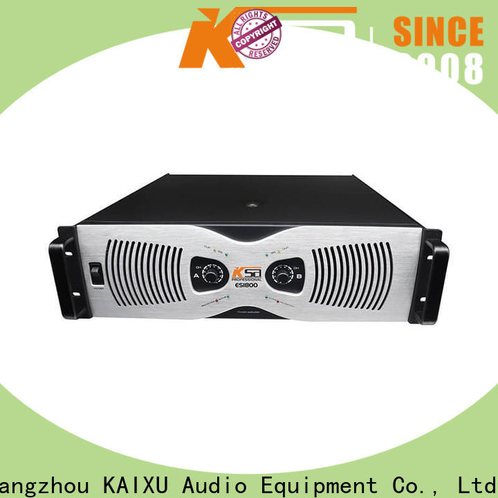 KSA power sound amplifier supplier for promotion