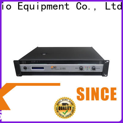 KSA top quality compact stereo amp supply for club