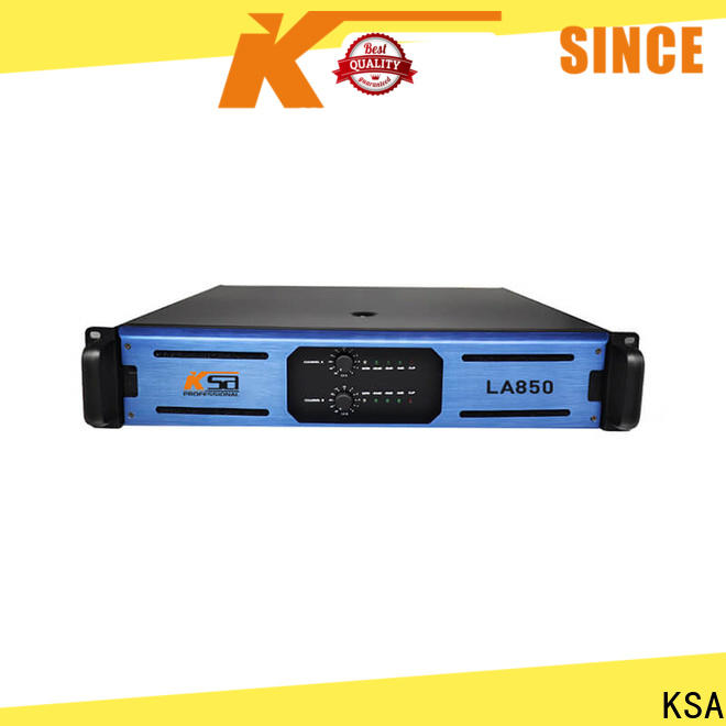 KSA professional china audio amplifier suppliers for speaker