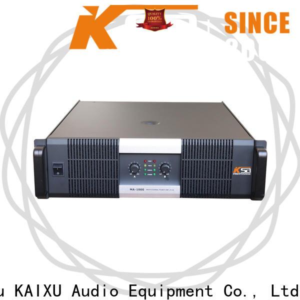 KSA best stereo power amplifier company for transformer