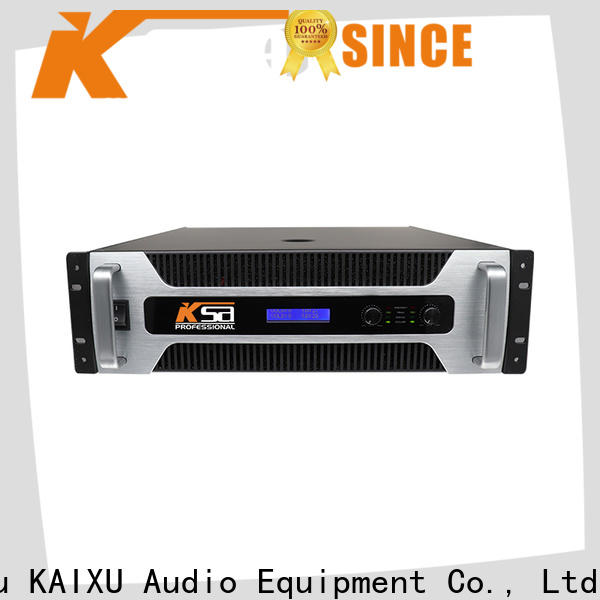KSA best price audio power amplifier factory for stage