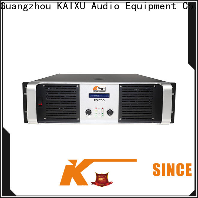 KSA high power amplifier series for multimedia