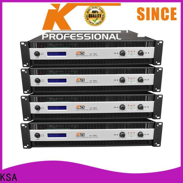 KSA professional power amp factory for night club