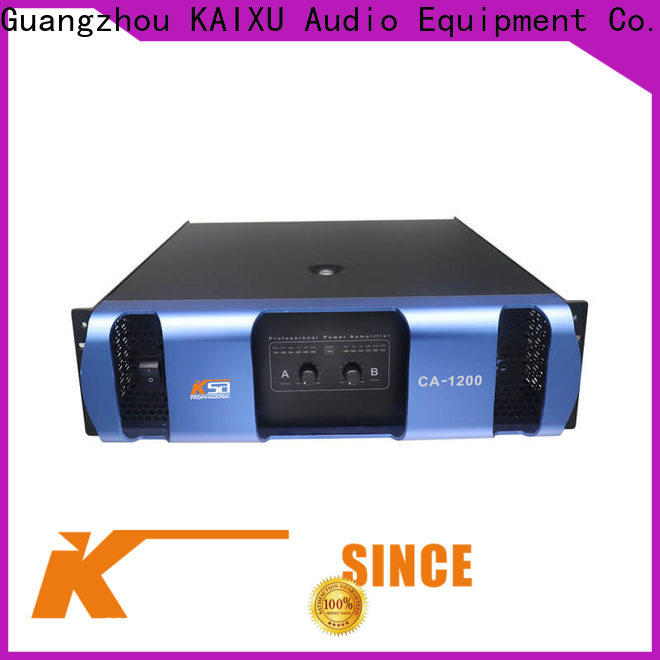 KSA power amplifier sound system supplier for night club