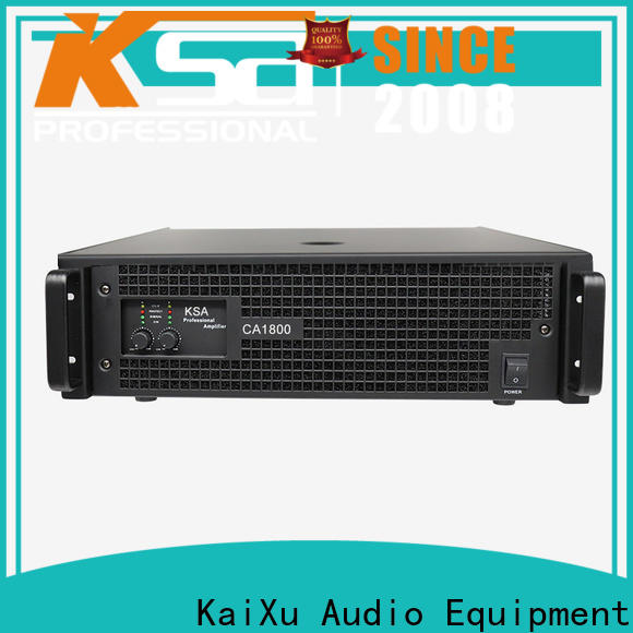 KSA professional power amplifier china best manufacturer for club