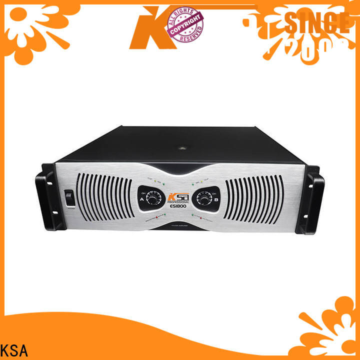 KSA hot selling class e power amplifier from China for lcd