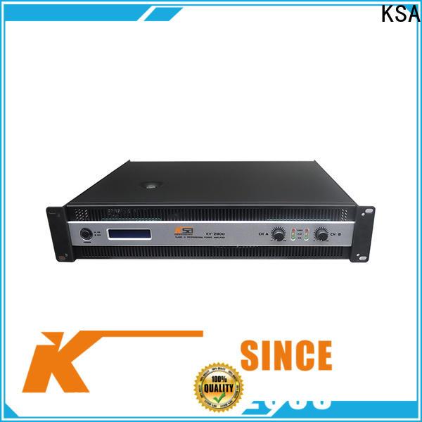 KSA compact stereo amp best supplier for bar