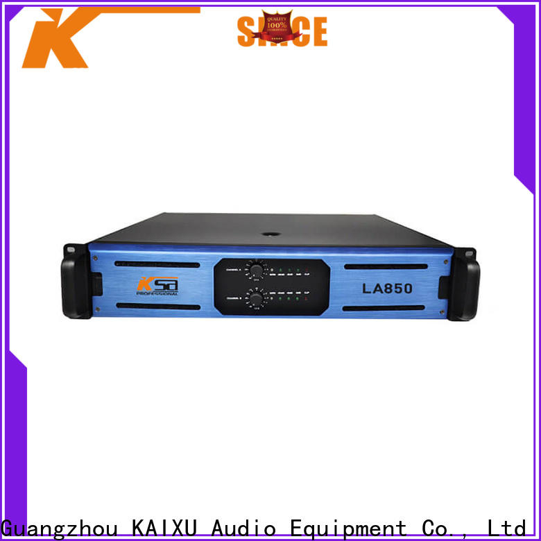 stable the best audio amplifier factory direct supply for club