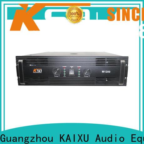 KSA latest power amplifier electronics best supplier for club