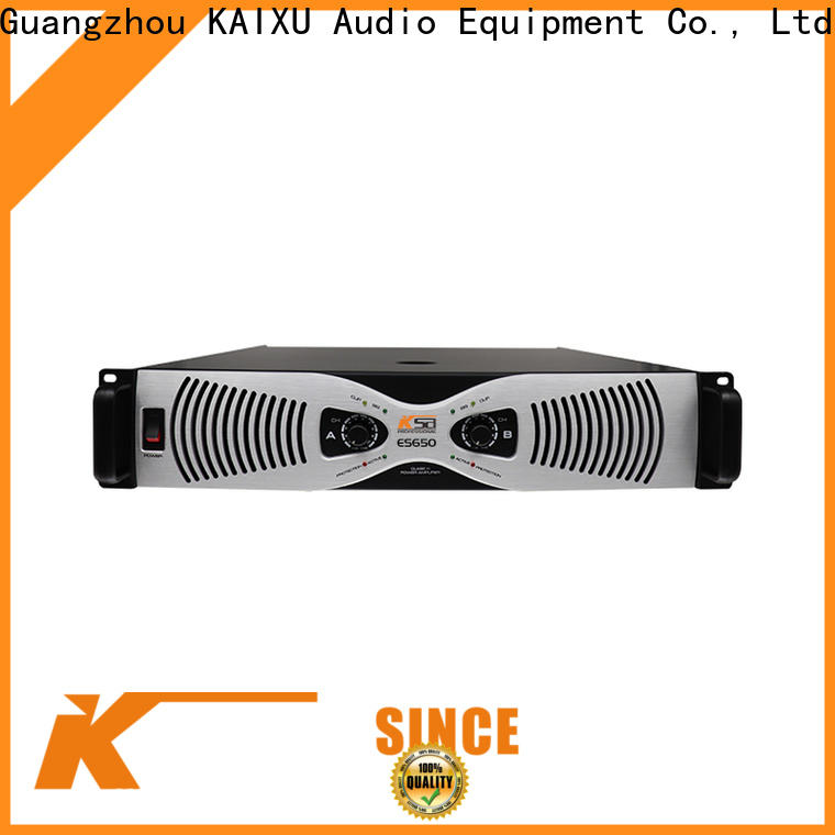 KSA promotional power sound amplifier factory for lcd