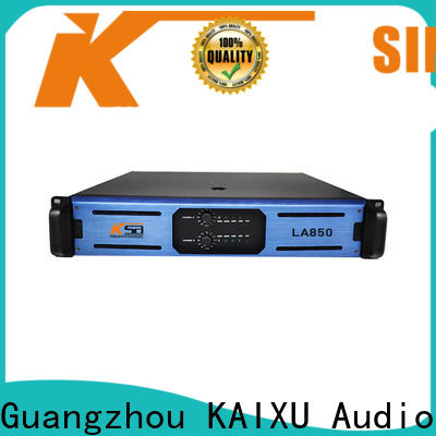 KSA worldwide best stereo power amp supply for night club