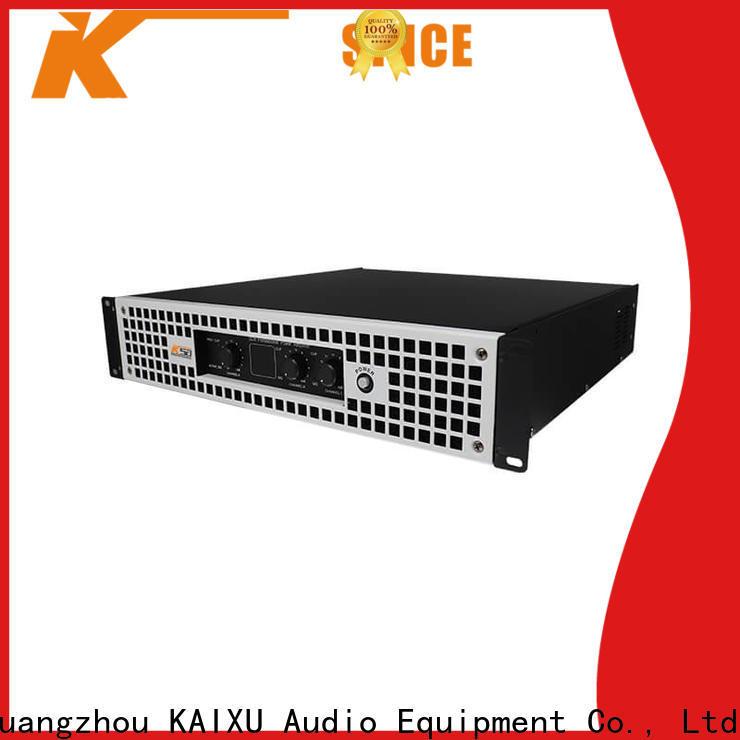 KSA latest power amplifier professional company for speaker