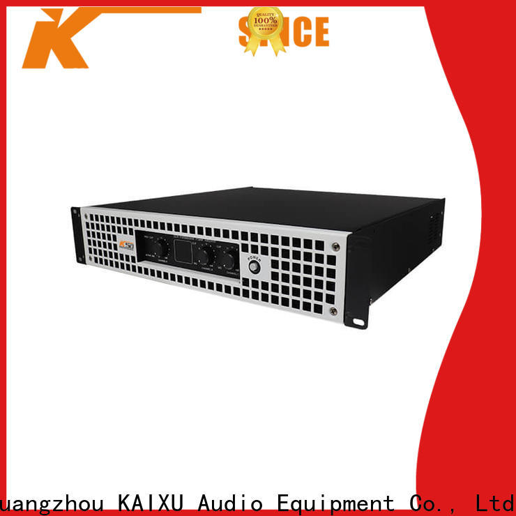 KSA latest power amplifier professional company for speaker