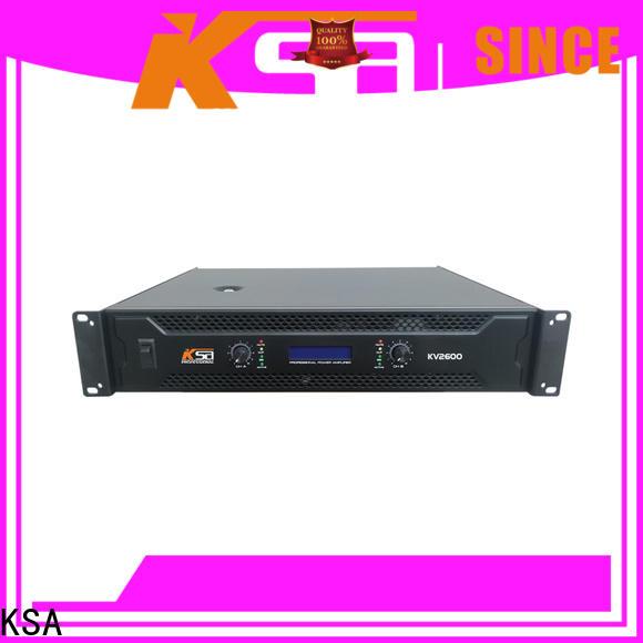 KSA stable amplifier power manufacturer