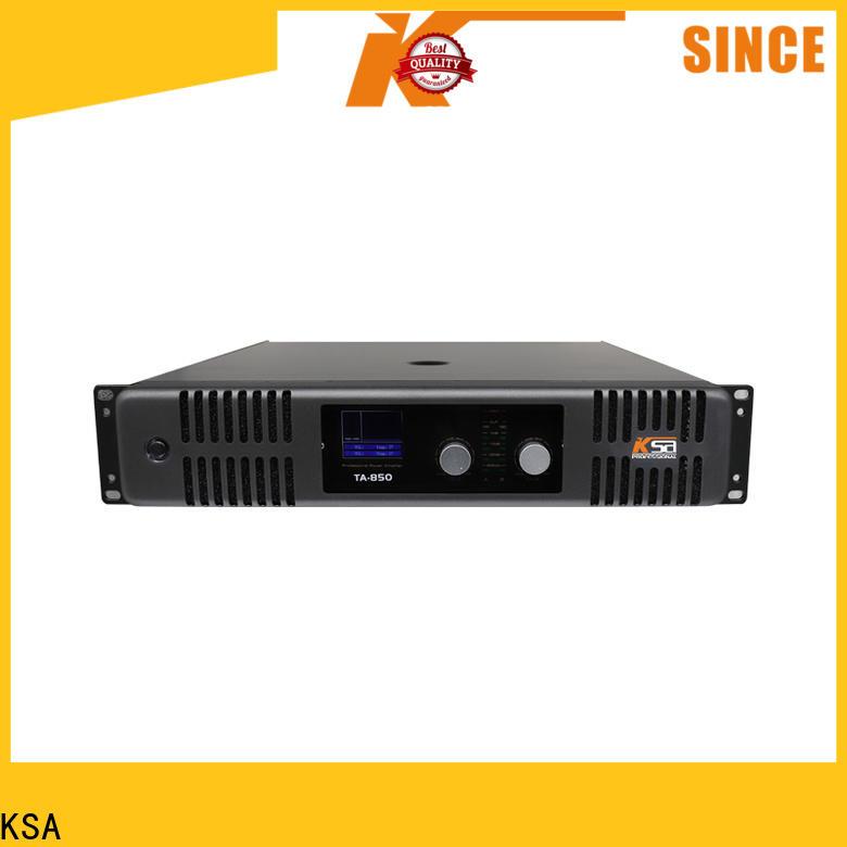 KSA reliable audio power amp from China bulk production