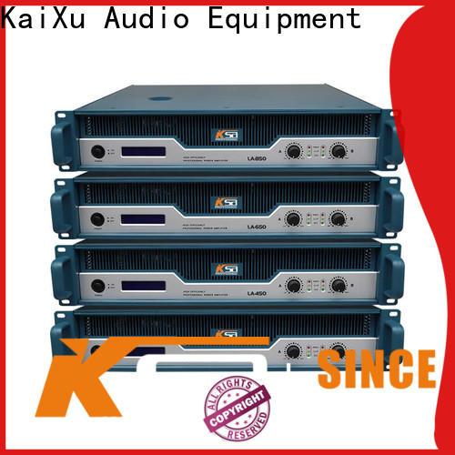 KSA studio power amplifier series for promotion