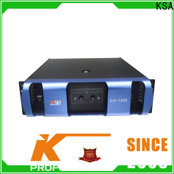 KSA professional power amplifier china supplier for bar