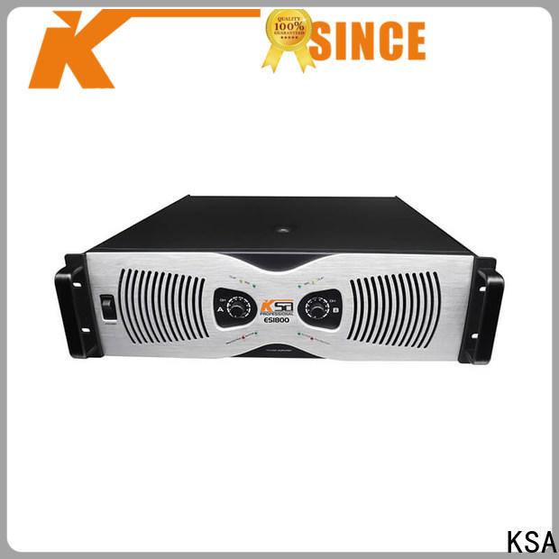 KSA 2 channel power amplifier home stereo best manufacturer bulk production