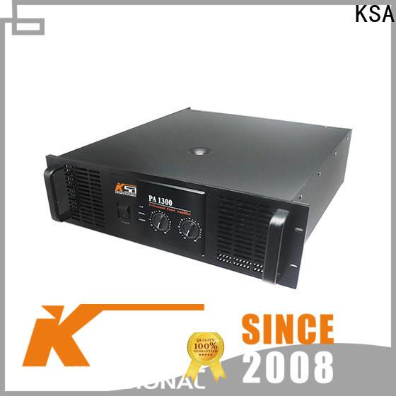 KSA popular sound amplifier best manufacturer for night club