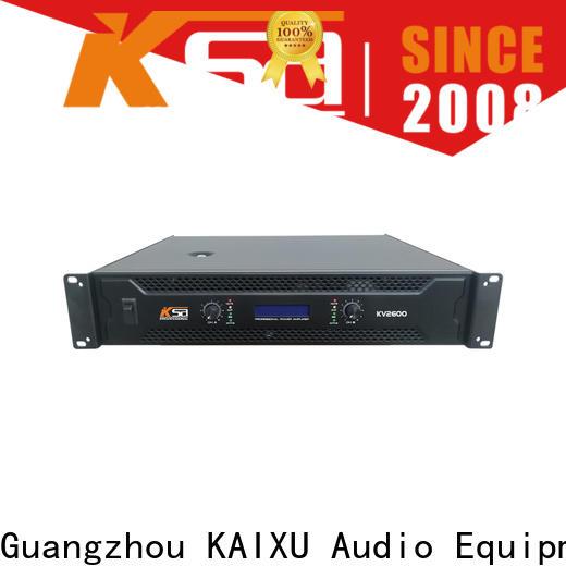 KSA top best power amps for live sound manufacturer for club