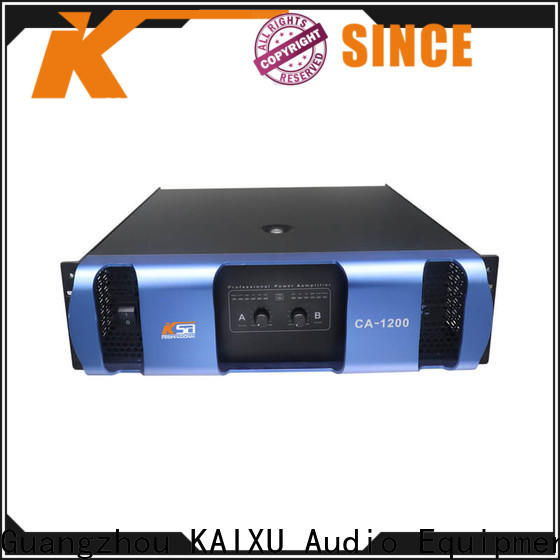 KSA popular professional power amplifier china factory direct supply for ktv