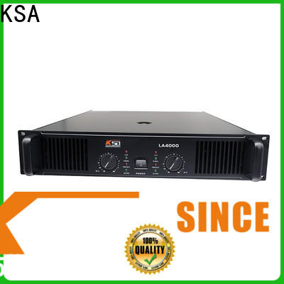 KSA top rated power amplifiers inquire now bulk production