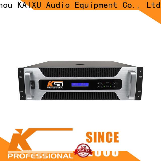 KSA audio power amplifier series for lcd
