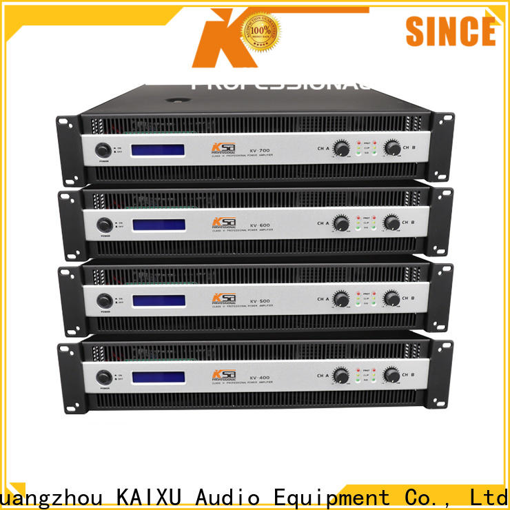 high quality audio sound amplifier series for promotion