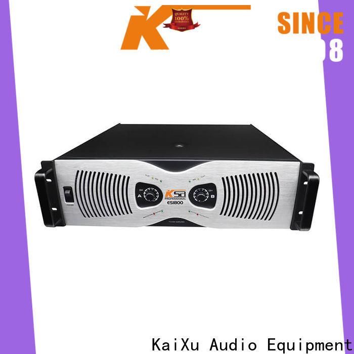 KSA good power amplifier supplier for speaker