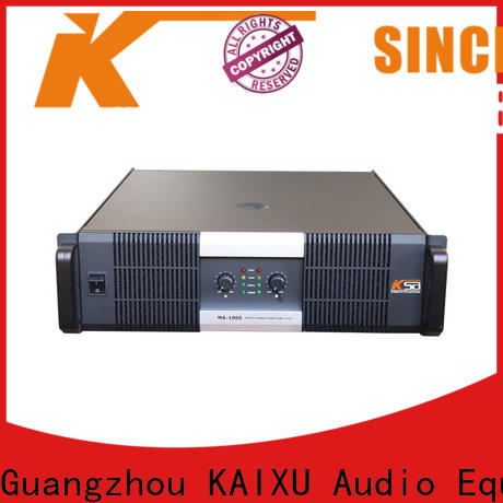 KSA live sound amplifier manufacturer for club