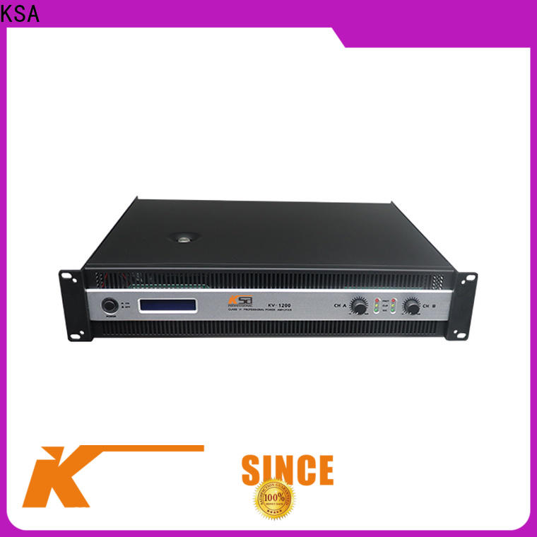 top selling precision power amplifier from China for ktv