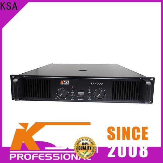 KSA top quality studio amplifier series karaoke equipment