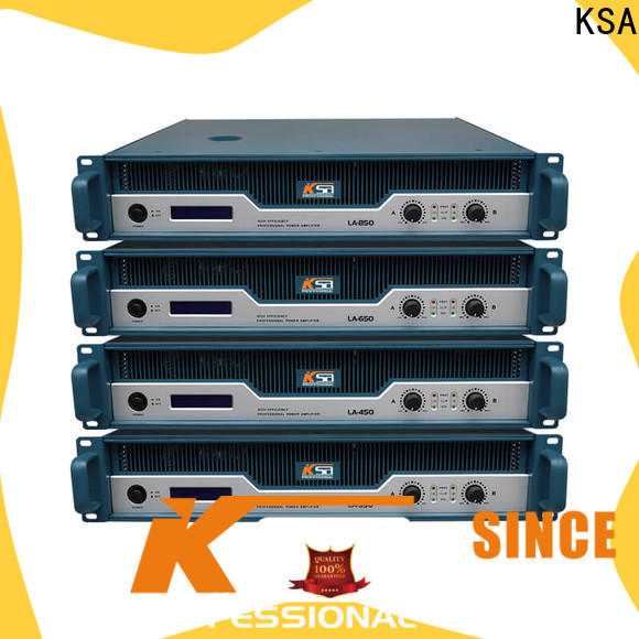 KSA low power stereo amplifier factory for sale