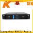 KSA power amplifier pa system best supplier outdoor audio