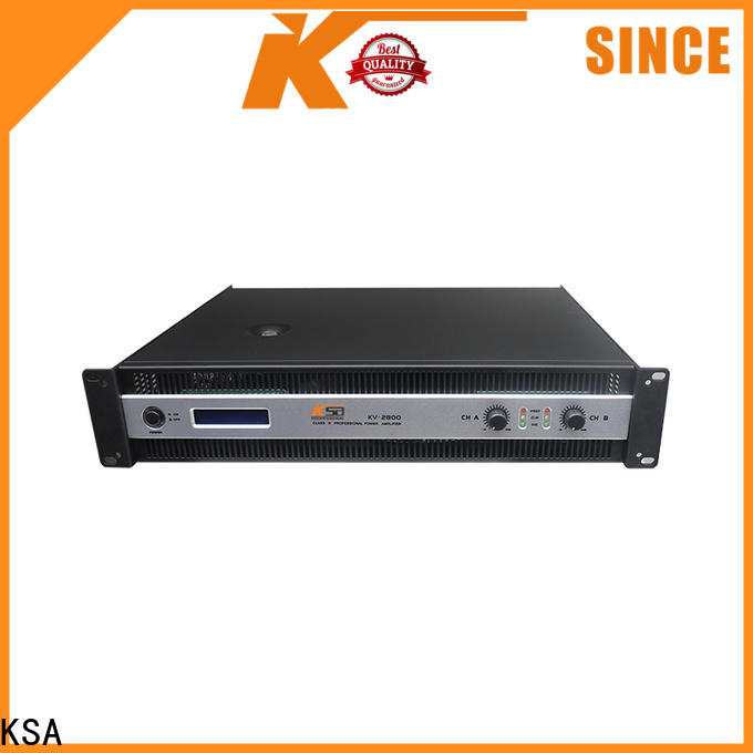KSA best value high power home audio amplifier from China for promotion