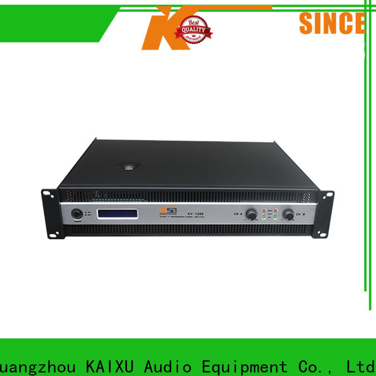 KSA reliable lightweight power amp factory direct supply